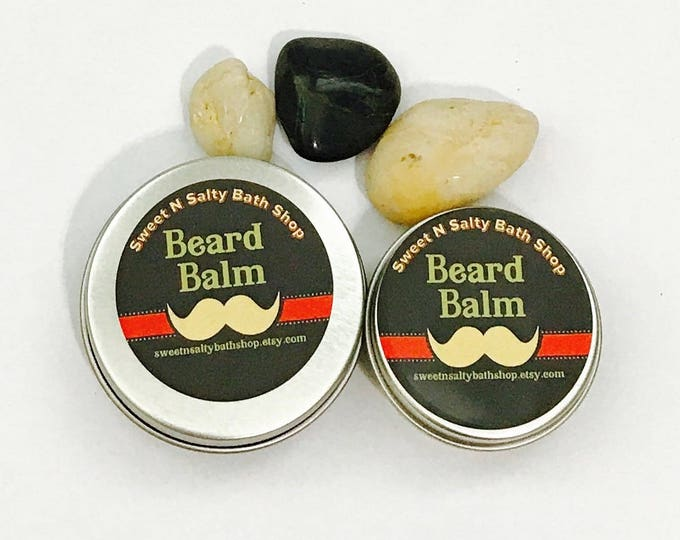 Beard Balm/Wax for Men-Zanzibar Spice/Scotch Whisky/Kentucky Bourbon/Manly Man/Stud and Many More Scents!