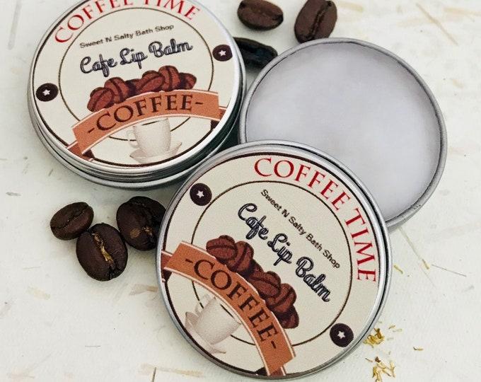 Coffee Shop Lip Balm/Cafe Mocha/Vanilla Latte
