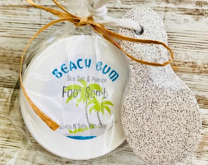 Beach Bum Sea Salt & Pumice Foot Scrub