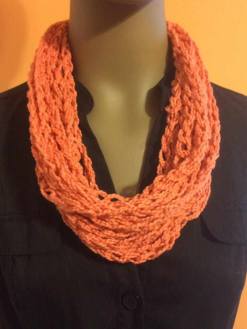 Jewelry/crochet necklace/crochet cowl/crochet image 0