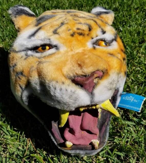 Vintage Tiger Mask - Tiger Head Mask - The Great C