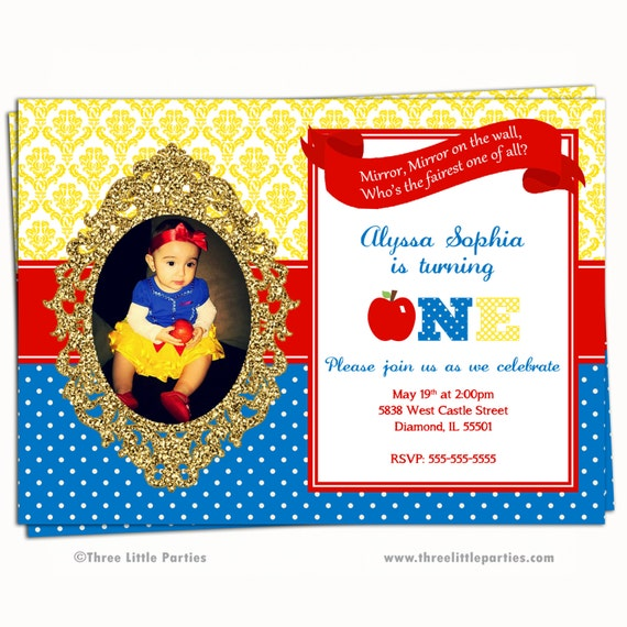 photograph relating to Snow White Invitations Printable named Snow White Invitation, Pretend Glitter Snow White Birthday Get together Invitation Chalkboard, Printable To start with Birthday Princess Invitation