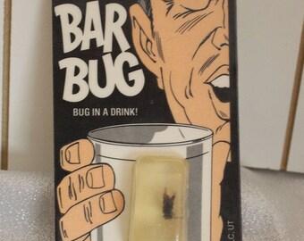 Vintage Funny Bar Bug Ice Cube Gag Gift  from Loftus /SLC UT