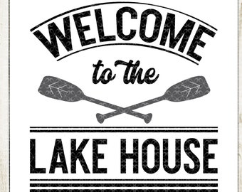 Welcome To The Cabin Svg Cutting File Printable Png Etsy