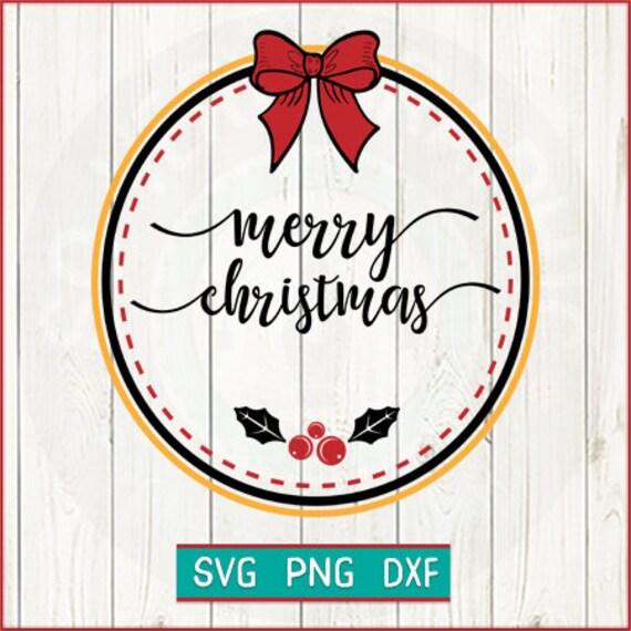 Farmhouse Christmas Ornaments Merry Christmas Svg Cut File Etsy