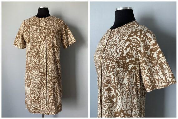 1960s Vintage Batik Tunic