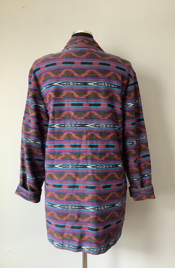 1980s Vintage Southwestern Oversized Blazer - image 6