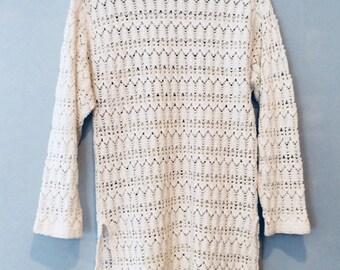 1980s Crochet Dress