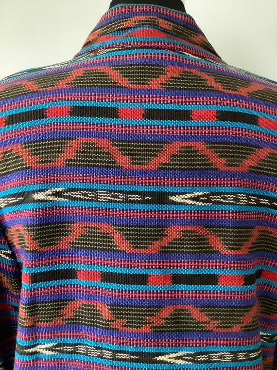 1980s Vintage Southwestern Oversized Blazer - image 7