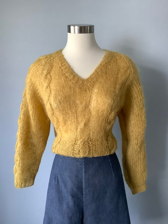 1950s Vintage Denim Shorts - image 5