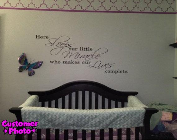 Love Coeur Enfants bébé Chambre Mur Art Autocollant Vinyle Décalques Citations transfert
