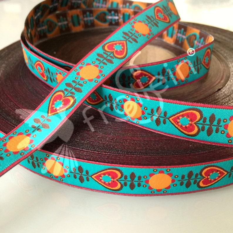 Woven Ribbon Retrolove