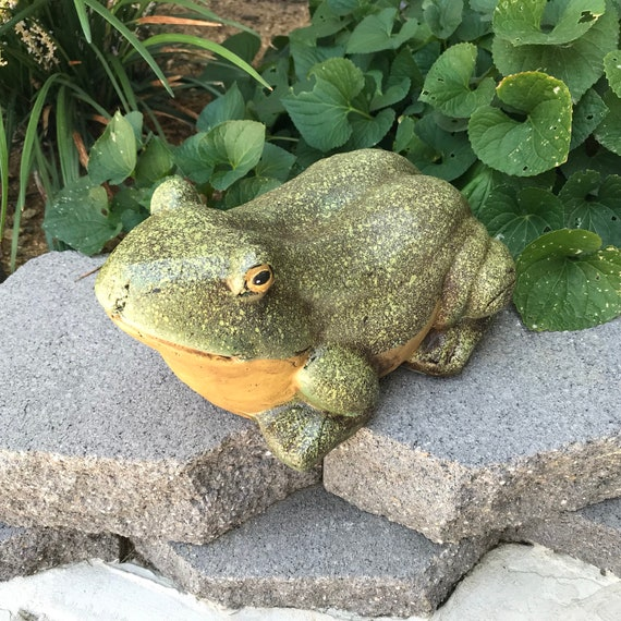 Statues For Garden Frog Gifts Frog And Toad Frog Statues | Etsy