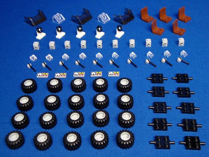 Voitures Les Pour Lego Portes Pièces Véhicules Volants Sièges TOkuPXZi