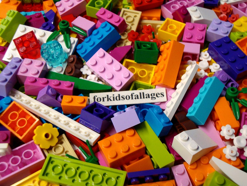 Lego 1x2 Brick Magenta Lot of 10