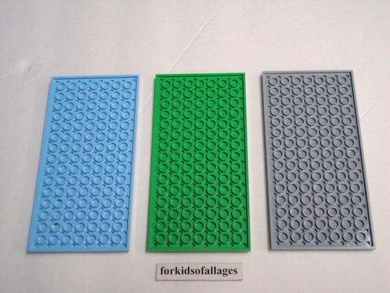 1 piece *NEW* Green Baseplate 8x16 Stud Flat Thin Platform Base plate