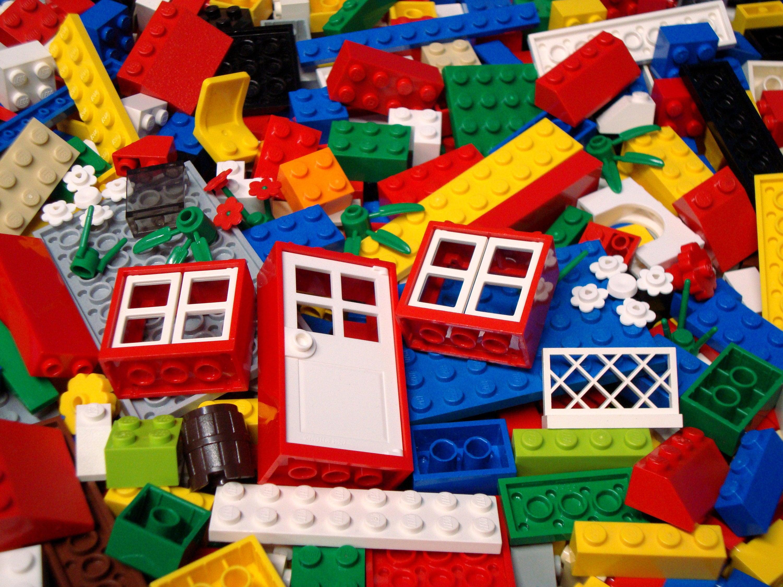100 pi ces de lego en vrac briques bloque assiettes. Black Bedroom Furniture Sets. Home Design Ideas