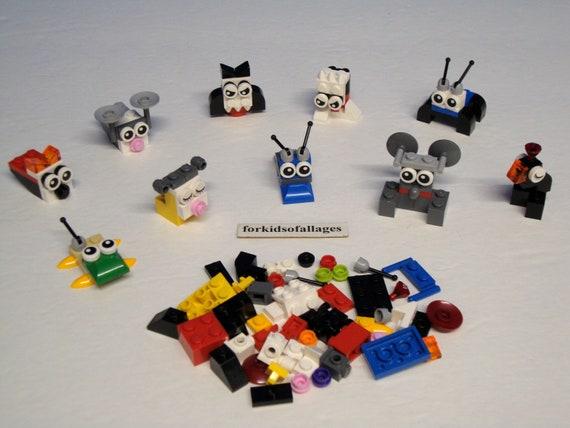 LEGO Bulk Lot 1//4 lb Bricks 1x1 Nice Assortment of Colors Very Gently Used