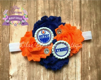 Kansas city royals personalized baby headband kc baseball edmonton oilers personalized baby headband edmonton hockey oilers girl bow oilers baby bow negle Image collections