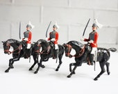 Britains Toy Soldiers The Life Guards 3 Mounted Sentries Excellent Condition