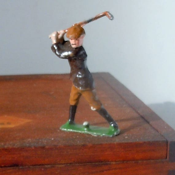 Antique Toy Golfer Figure from a Toy Soldier Company   Johilco  British Toy