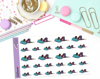 "CAN'T EVEN ""MAY"" Doodle Paper Planner Stickers"