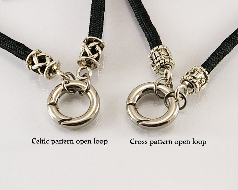 03201195a1 Collana medievale per uomo con anello aperto uomo uomo | Etsy
