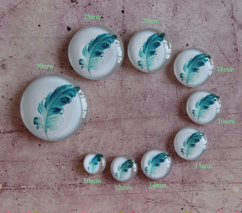glass cabochon xy1202 Handmade photo glass Cabochons 8mm 10mm 12mm 14mm 15mm 16mm 18mm 20mm 22mm 25mm 30mm 35mm 40mm 50mm 58mm