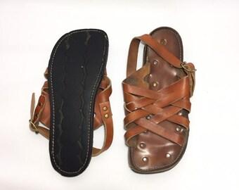 6ad5a9b2776dd 1970s mens sandals | Etsy