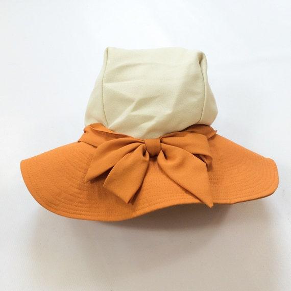30s Wide Brim Hat Womens Floppy Garden Hat Spring