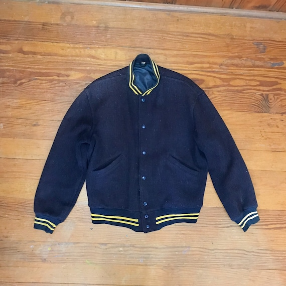 40s SPORTS Jacket Mens Small Medium 38 Preppy Mens