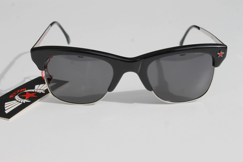 f1ff8ea04e Rare vintage clubmaster sunglasses MOCKBA by TRENTI 2 NERO