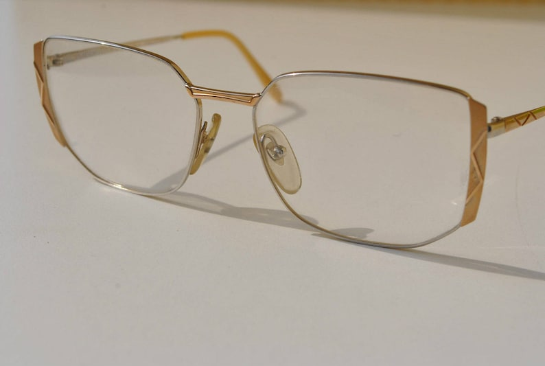 Great Gold Anais New Silver Lunettes 135 Elegant 16 And France Vintage 54 In Adorned Mat L'amy Made Frames Eyeglasses rQWoedCBEx