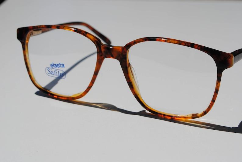 f274dfd24c Vintage SAFILO ELASTA 1533 B28 55-18 145 transparent marbled