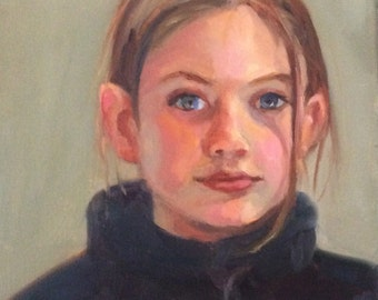 Examples of commissioned portraits  -- from pictures or live sitting