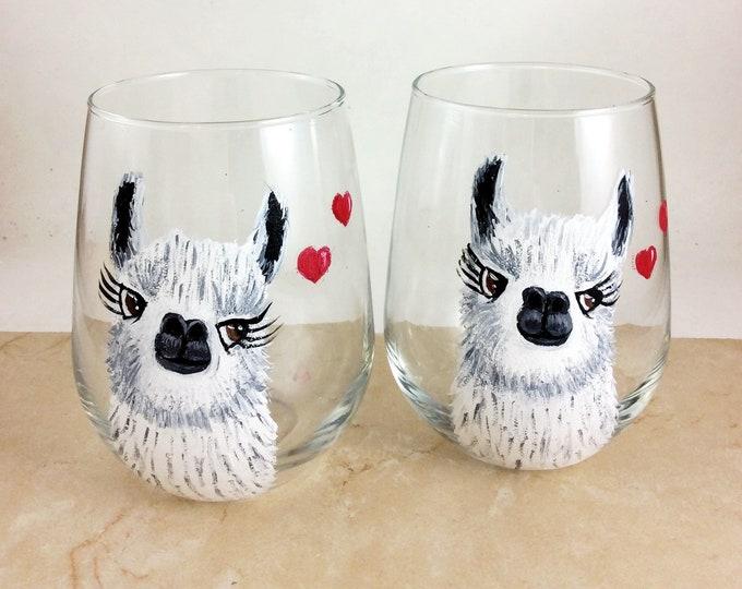 Llama Wine Glass, Llama Lover Gift, wine lover gift, Best selling Items,Best Sellers, Llama gift, Llama mama, Llama drama, Drama Queen, Wine