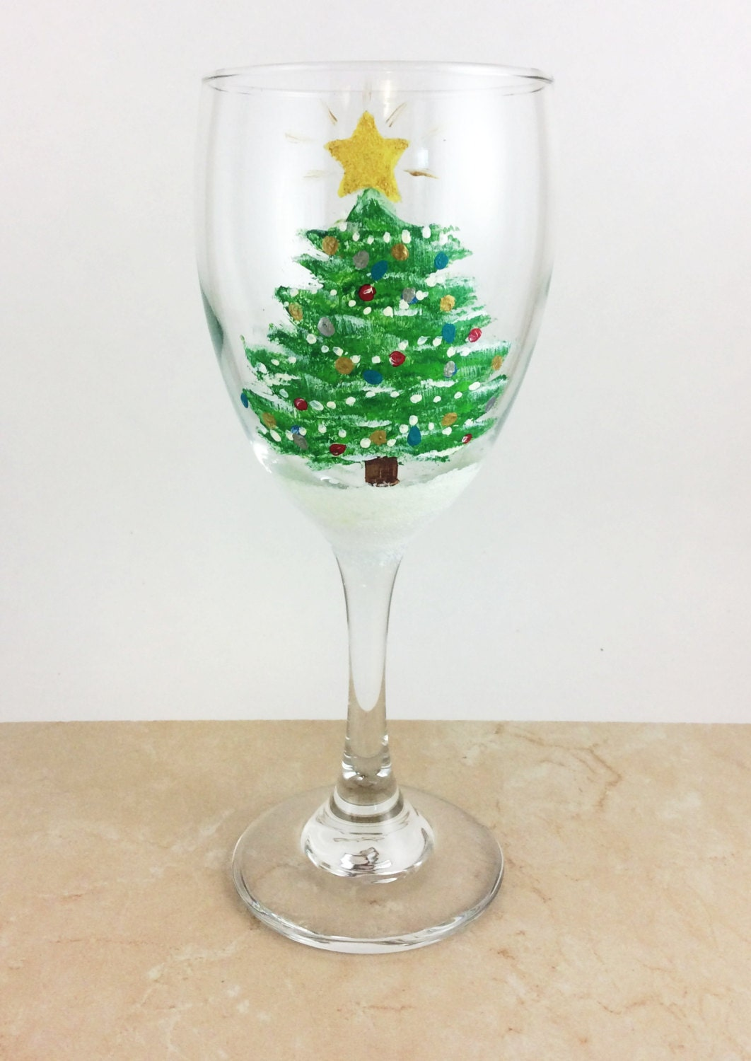 christmas wine glass holiday wine glasses painted wine glasses christmas decor holiday party christmas party christmas gift wine gift