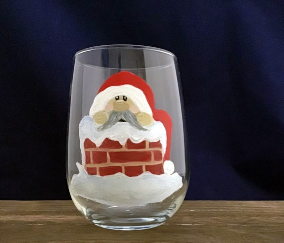 Gnome Stemless Wine Glasses, Christmas Gnomes, Valentine Gnomes, Christmas Drinking glasses, 17oz. Gnome Wine Glasses