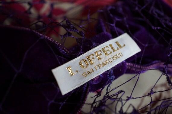 I. Offell San Francisco, Blusher Veil, Vintage 19… - image 5