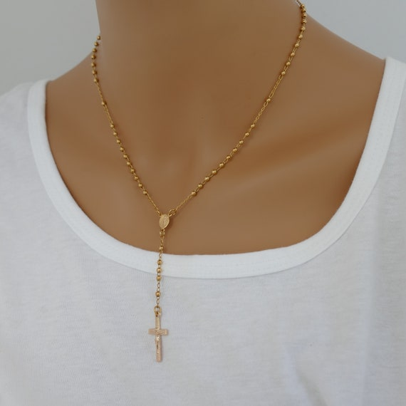 14k Gold Necklace Gold Necklace solid gold necklace dainty gold necklace delicate necklace dainty necklace necklace gift for her 14k gold