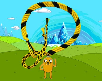 Adventure Time friendship bracelet with Jake charm Free UK Postage!