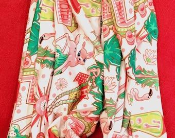 Kitsch pattern- modern jersey infinity scarf