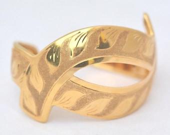 Bracelet 18 kt yellow gold, Italian style 1950/70