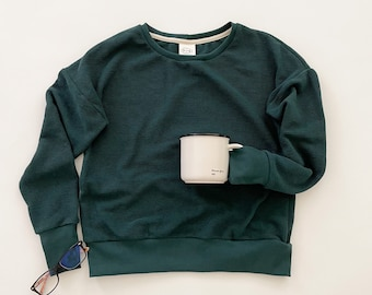 Organic Cotton Relaxed Fit Sweater
