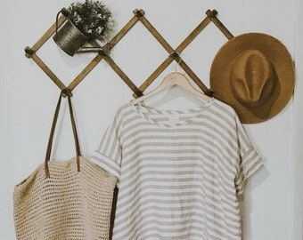 the Kelly tee - a relaxed Loose fit Linen top
