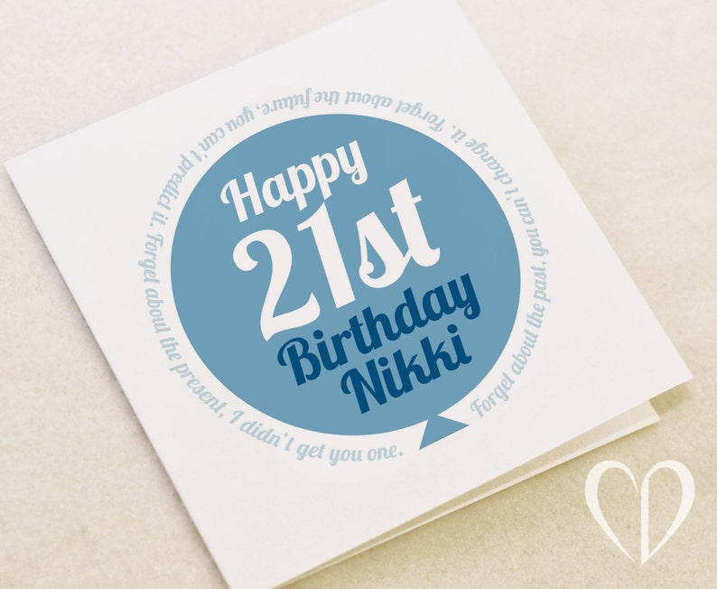 Special Birthday Card Big Personalised
