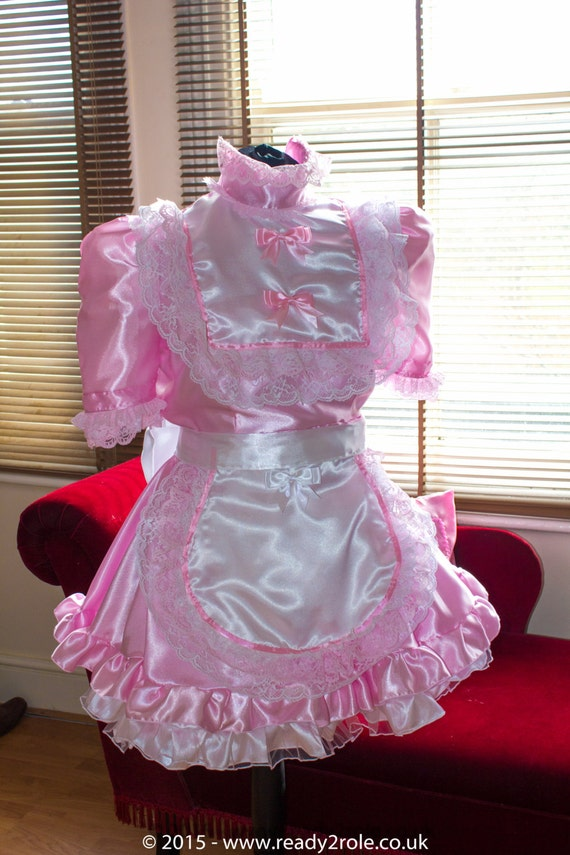 Sissy Dress The High Neck Full of Frills Lockable | Etsy