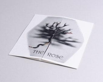 "Artist's book. ""The Rose"""