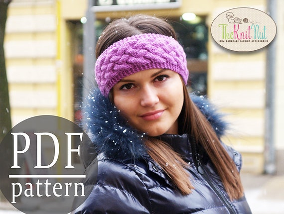 Instant Download Knitting Pattern Chunky Braid Cable Pattern Etsy