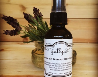 Lavender Neroli Dry Body Oil